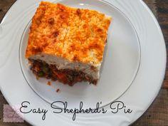 The Art of Random Willy-Nillyness: Easy Shepard's Pie Recipe!