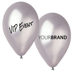 VIP Event Balloons Printed With Your Brand Logo. Spot Colour Printing or Full Colour HD Printing in CMYK. Print Up to 4 Sides, Same or Different Designs!  Promote Your #Event #printedballoons #brandedballoons #promotionalballoons #printed #balloons #promotions #promotional #products #branding #retail #awareness #VIP #Event