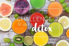 Janvier – Challenge 30 jours détox