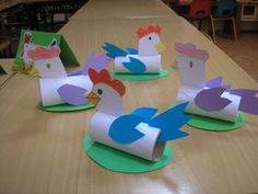 Toilet Paper Roll Crafts - Get creative! These toilet paper roll crafts are a great way to reuse these often forgotten paper products. You can use toilet paper rolls for anything! creative DIY toilet paper roll crafts are fun and easy to make. Toilet Roll Craft, Toilet Paper Roll Crafts, Paper Crafts For Kids, Diy Paper, Farm Crafts, Bunny Crafts, Easter Crafts, Unique Art Projects, Projects For Kids