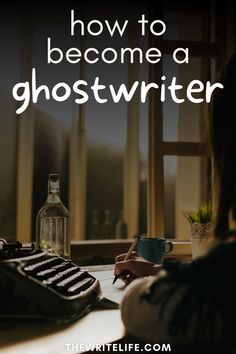 Ghostwriting consistently challenges your writing skills. If you've ever had trouble meeting your daily word count goals, try ghostwriting a book for a client who has already paid you! Learn more and get the best writing tips at thewritelife.com.