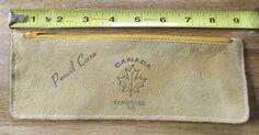 Deerskin Pencil Case Vancouver BC - Unused.