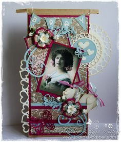 6002/0162 Noor! Design Vintage Border door Joyce Martens