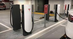 Новый тип зарядных станций от Tesla (Urban Charger) http://bit.ly/2wlQ480  #Tesla #Supercharger