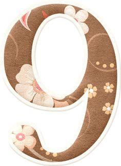 Alfabeto Cerezos en Flor.
