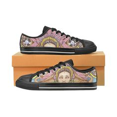 Mood Static low tops woman Canvas Women's Shoes/Large Size