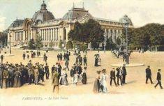 Le Petit Palais à Paris en 1900