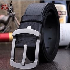 Aliexpress.com : Buy Men Belts Cowskin Belts For Men Strap Luxury Brand Designer Pin Buckle Genuine Leather Male Hip Belt Cinto Masculino from Reliable belt clip key ring suppliers on YanYang International Company Ltd.  | Alibaba Group