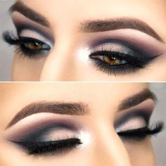 18+ Cool Makeup Looks for Hazel Eyes and a Tutorial for Dessert ★ Top Ideas of the Smokey Makeup for Hazel Eye picture 5 ★ See more: http://glaminati.com/hazel-eyes/ #makeup #makeuplover # makeupjunkie #makeupideas #hazeleyes #eyesmakeup #makeuptutorial