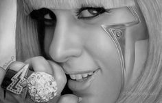Gaga....Pencil drawing by Rajacenna