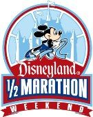 Run the Disneyland 1/2 marathon