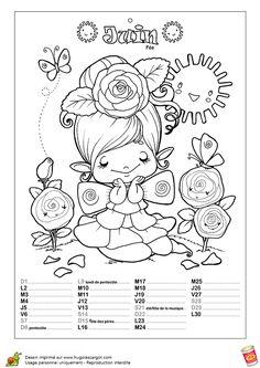 06 Calendrier Enchante Juin, page 7 sur 13 sur HugoLescargot.com