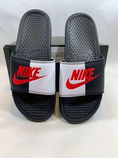 Nike Benassi for sale Nike Slippers, Mens Slippers, Nike Sandals, Flat Sandals, Nike Benassi, Shoe Game, Jordan Shoes, Men's Shoes, Latest Trends