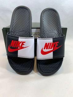 Nike Benassi for sale Nike Slippers, Mens Slippers, Nike Sandals, Flat Sandals, Nike Benassi, Shoe Game, Jordan Shoes, Men's Shoes, Latest Trends