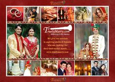 We are alwaz ready for finding your soul mate. you visit site http://www.truelymarry.com  call & whatsapp : 8303930005