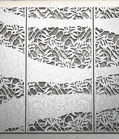 Miles and Lincoln - the UK's leading designer of laser cut screens for decorative interior panels, external architectural cladding, balustrades and ceilings
