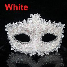 High Qualiy Lace Rhinestone Leather Plastic Mask Masquerade Princess Mask For Ball Wedding Party Halloween Holiday &10 Colors