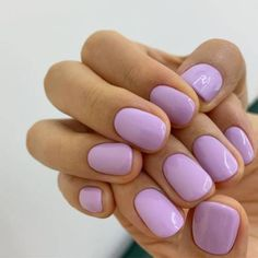 The advantage of the gel is that it allows you to enjoy your French manicure for a long time. There are four different ways to make a French manicure on gel nails. The choice depends on the experience of the nail stylist… Continue Reading → Cute Nails, Pretty Nails, Hair And Nails, My Nails, Swag Nails, Nail Design Glitter, Nail Design For Short Nails, Nails Design, Lilac Nails