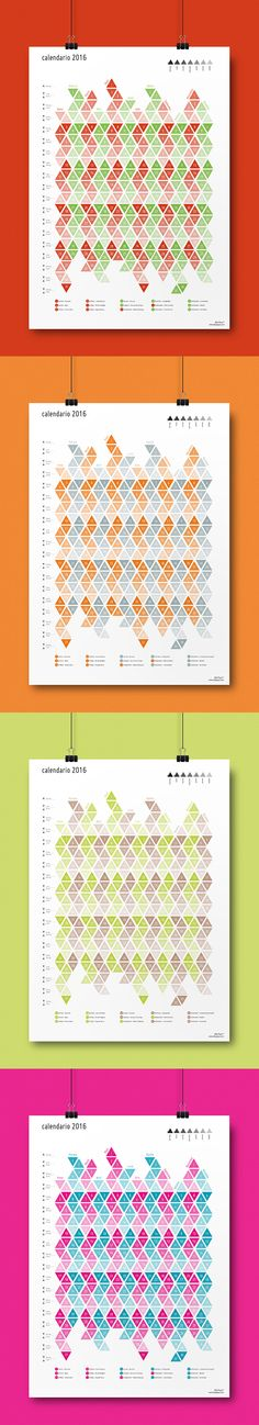 Showcase of Creatively Designed Calendars Calendar design - perpetual calendar template