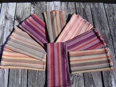 One Warp, 8 Different Towels