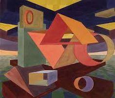 Image result for Al Held, Mondrian
