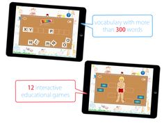 Teach Me Apps: English for Kids | www.teachmeapps.net Educational Games, Vocabulary, Apps, English, Teaching, Words, Learning Games, App, English Language