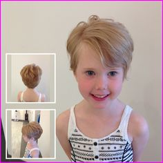 Today we have the most stylish 86 Cute Short Pixie Haircuts. We claim that you have never seen such elegant and eye-catching short hairstyles before. Pixie haircut, of course, offers a lot of options for the hair of the ladies'… Continue Reading → Little Girls Pixie Haircuts, Kids Short Haircuts, Short Layered Bob Haircuts, Modern Short Hairstyles, Cool Hairstyles For Girls, Baby Girl Hairstyles, Childrens Haircuts For Girls, Little Girls Pixie Cut, Teenage Hairstyles