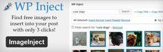 3 Plugins für Wordpress um Creative Commons Fotos in einen Post einbauen zu können.