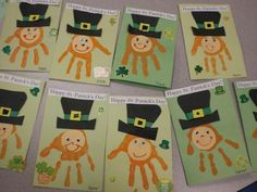 5 Easy Hand Print St. Patrick's Day Crafts for Kids - Classy Mommy