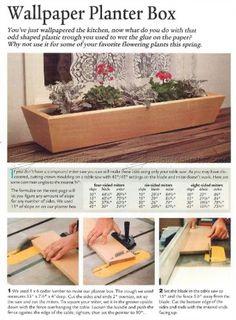 #546 Planter Box Plans - Outdoor Plans