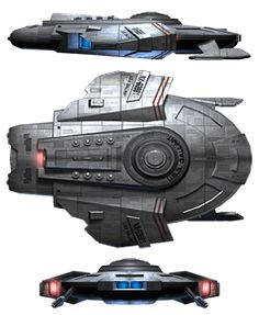 Gallant class starship - tactical escort.