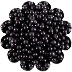Black Sugar Pearls 4mm from Layer Cake Shop! Perfect eyes for cookies ...