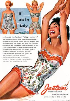 Jantzen 1955 / Illustrated by Pete Hawley