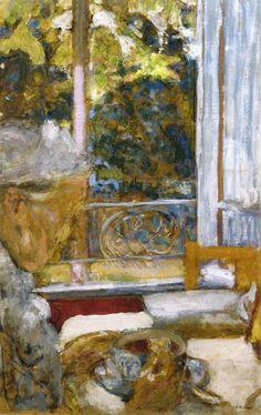 'Madame Vuillard in the Breakfast Room at La Toquade', c.1923 - Edouard Vuillard