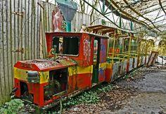 "Panoramio - Photo of Abandoned amusement-park; ""the last train"""