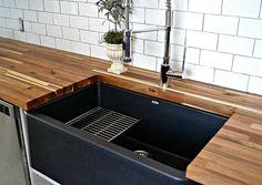 - Blanco Silgranit Ikon Apron Front Sink   (Blanco) - Diva Kitchen Faucet   (Blanco)