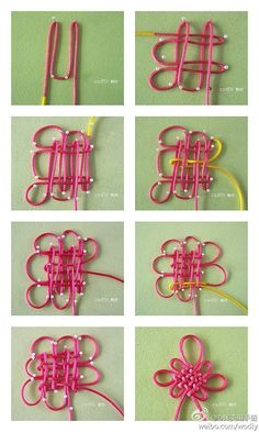 Asian knot | Craft - Chinese New year by TinyCarmen More