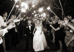 sparklers for wedding;sparklers at wedding; Wedding Send Off, Wedding Bows, Glitter Wedding, Dream Wedding, Wedding Stuff, Wedding Album, Sparkler Pictures, Wedding Sparklers, San Diego Wedding