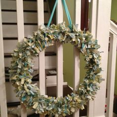 This is a wreath I made