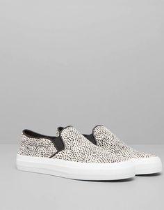 Pull&Bear - schoenen - sportschoenen - basic slip on - zwart - 11800011-V2015