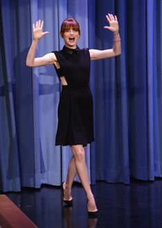Emma Stone Emma Stone visits 'The Tonight Show Starring Jimmy Fallon' at Rockefeller Center on April 28, 2014 in New York City.