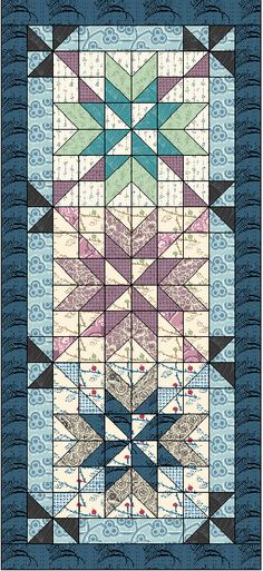 Ice Crystals by On Point Quilter