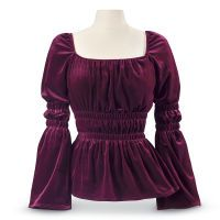 Catherine Velvet Top
