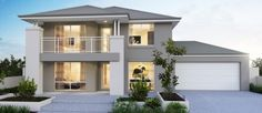 ICYMI: two storey house design and floor plan 4 Bedroom House Designs, 5 Bedroom House Plans, Bungalow House Design, 3 Storey House Design, One Storey House, House Extension Plans, House Extension Design, Simple House Design, House Front Design