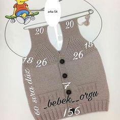 baby-vest-models – My CMS Crochet Baby Poncho, Baby Boy Knitting, Knitting For Kids, Baby Knitting Patterns, Crochet For Kids, Free Knitting, Knit Crochet, Crochet Patterns, Mini Kids