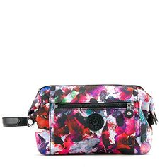 Kipling Womens Aiden Printed Toiletry Bag One Size Wildflower     More info  could be found at the image url. Jessica Gibbs · Makeup bags 03e11e3a142d6
