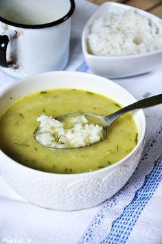 letnia zupa ze świeżych ogórków