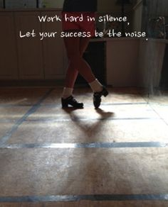 The truth about Irish Dancing...and, when you think about it. ..most things.