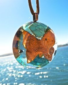 COPPER BUTTERFLY Totem Positive Energy Orgone by energygemstore