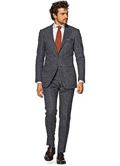 Suit Grey Stripe Washington P3933 | Suitsupply Online Store